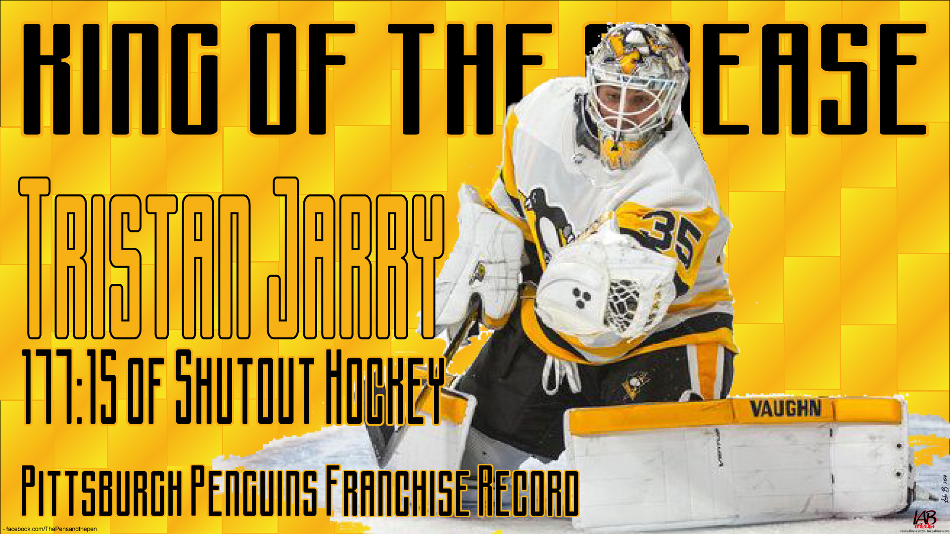 Tristan Jarry: the King of the Crease